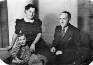 Adolf und Martha Frenkel mit Heinz