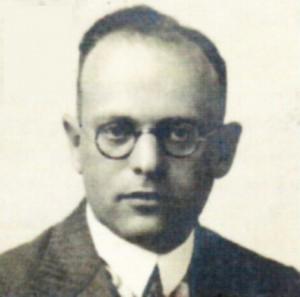 Paul Moos im Jahr 1933