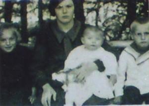Auguste, Amalie, Josef und Jakob Eckstein