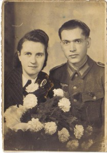 Anne und Kurt Henne, Hochzeitsbild 1943