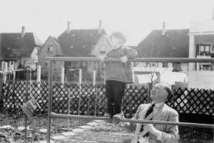 Ernst Dauner mit Sohn Hanns