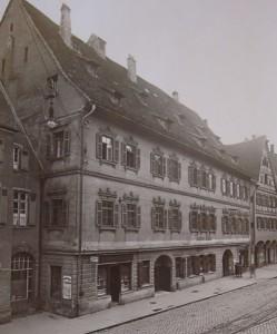 Der Elchinger Hof am Anfang des letzten Jahrhunderts