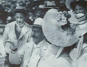 Karl Rueff mit seinem Vater Konsul Rueff