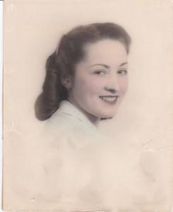 Selma mit 18 Jahren. Foto: Familie Behr