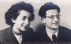 Peter Ury mit seiner Frau Sylvia. Billd: Tanya Ury