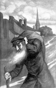 """""""Heimatlos"""", von Julius Cohn, veröffentlicht in """"Ost und West"""", 1902, November Heft."""
