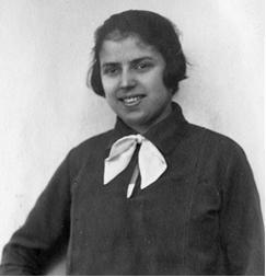 Ilse Vöhl im Jahre 1925. Copyright http://www.vor-dem-holocaust.de und Hilde Burton.
