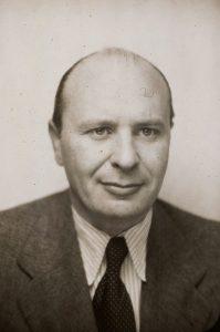 Otto Polatschek ca. 1941 (Bild aus der Personalkartei von Ehrich & Graetz). Bildrechte: Jüdisches Museum Berlin.